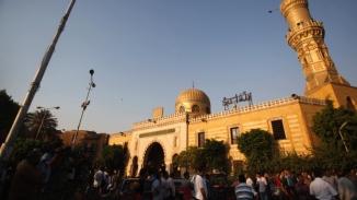 Egypt's El Sayeda Nafisa Mosque in Cairo