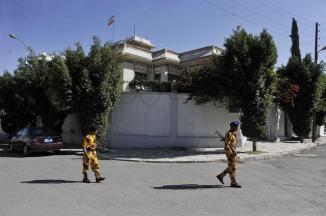 Irani Diplomat Martyred in Sanaa , Yemen