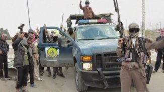 Iraqi Security forces and Loca Tribemen fight Al Qaeda Terrorists