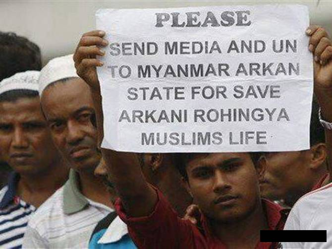Rohingya Muslims Plight Ignored By Main Stream Media