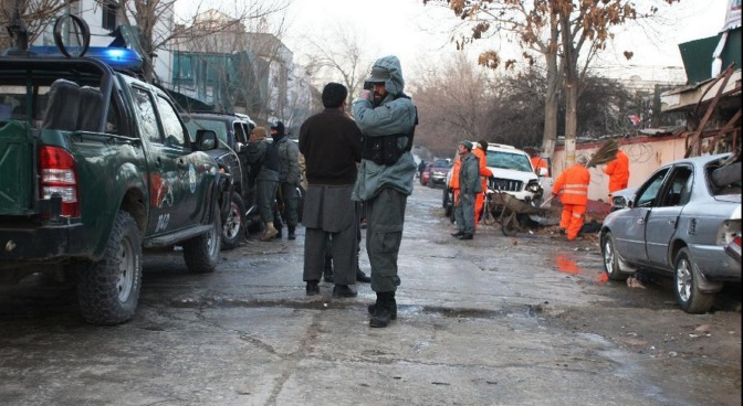 Suicide Attack On Hotel in Kabul Jan 2014 a