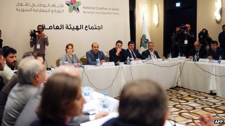 Syrian National Council meets in Istanbul , Turkey