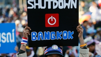 Thai Protesters Shut Down Bangkok