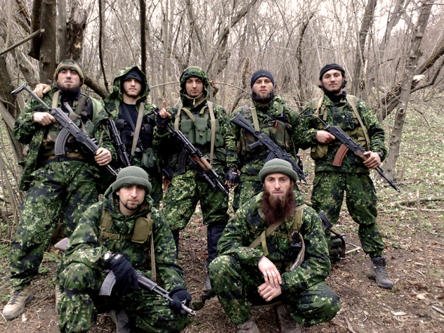 US CIA's trained Gurella fighters