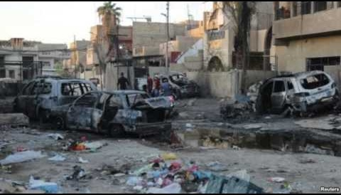 Blasts across Iraq resulting 49 Deaths