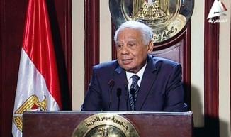 Egtian Ex Prime Minister Beblawi