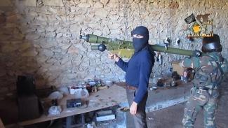 Saudi Sponsored Syrian Terrorist