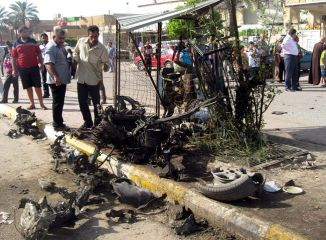 Car Bombs Hit Bagdad Once again 15 Mar 2014