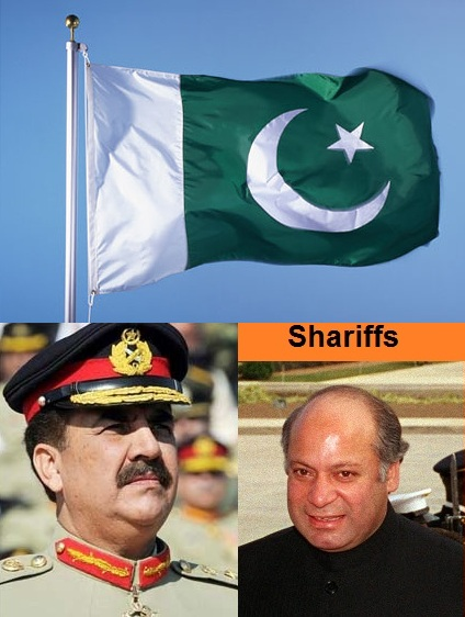 Gen Raheel Sharif and Nawaz Shariff