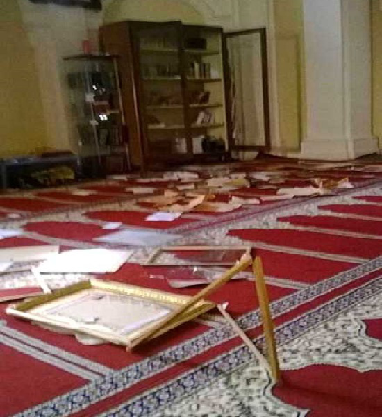 Italian Mosque Vandalised By Anti Islam Forces