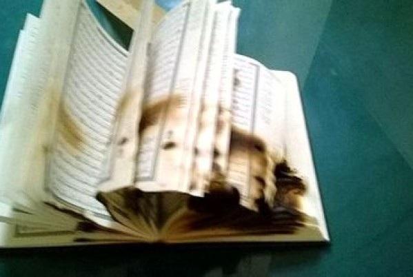 Italian Mosque Vandalised , Quran Burnt