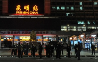 Knife Wielding Attacks on the train Station in China h