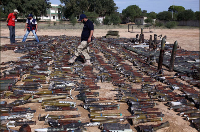 Libyan Rebels Involved in Illicit arms Trade a