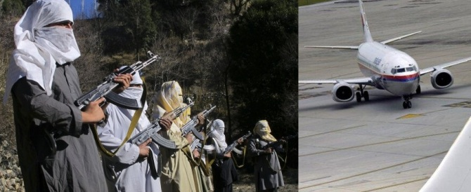 Malaysian Airline MH370 in Taliban Control Area