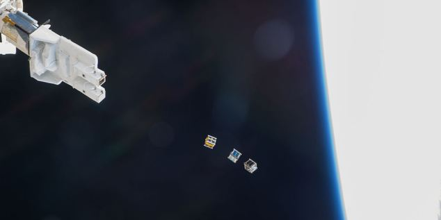 Outernet Project for Cubesat in Space