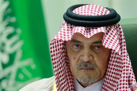 Saudi Crown Prince and FM Saud al Faisal