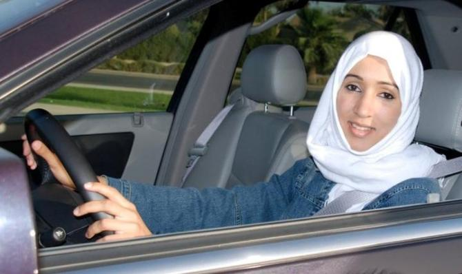 Saudi Woman Manaal Al Sharif