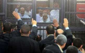 683 Members of Muslim Brohterhood sentence to death by Egyptian Court