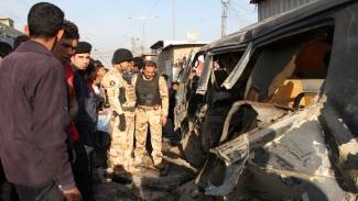 8 Shia martyred in a Truck Blast in a Iraqi Village