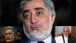 Afghan Presidential Candidate Abduallah Abdullah