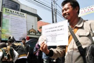 Anti Shia National Alliance in Indonesia