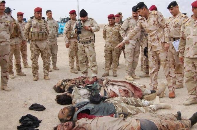Iraqi forces Kill 40 Wahabi Terrorist