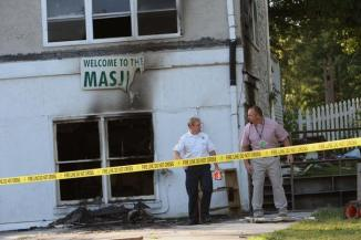 Mosque Set on fire in Georgian village