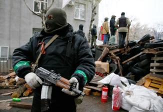 Pro Russian Ukrainian Sepratist