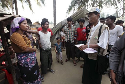 Rohingya Muslims barred from National Census