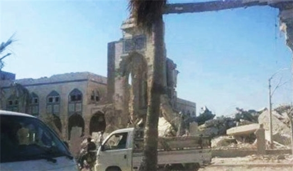 Holy Shrine of Owais Al Qarni Destroyed by Takfiri Terroirists