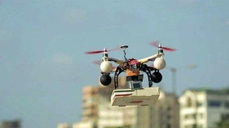 Indian Drones Delivering Pizzas in Mumbai
