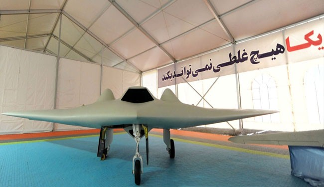 Iran displays indigenous version of US RQ-170 drone