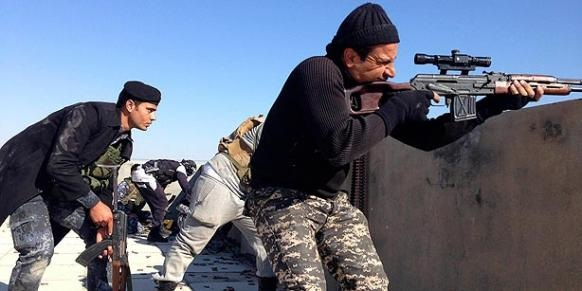 Iraqi forces take Postions against ISIL terrorists