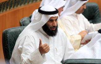 Kuwait's Islamic Affairs Minister Nayef al-Ajmi , terrorist Fund Raiser