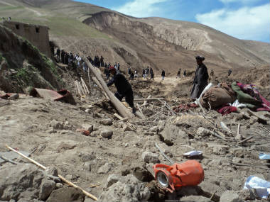 Land Slide in Badakhshan Afghanistan
