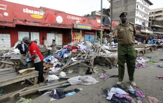 Nairobi Blasts at Kenya Market