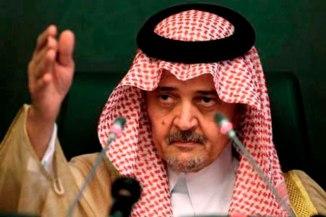Saudi Foreign Minister Saud Al Faisal