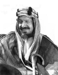 Saudi King Abdul Aziz Ibn Saud