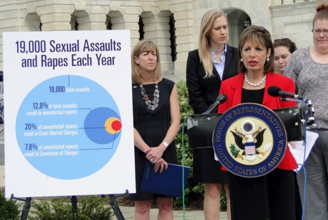Sexual Assaults in US Armed Forces