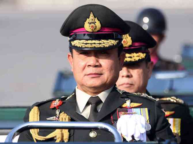 Thai Army Declares Martial Law in the Country