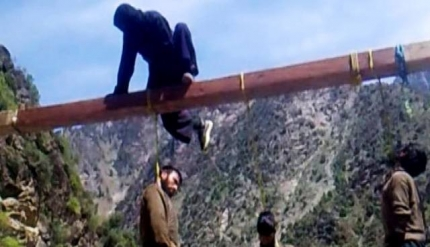 12 Taliban Commanders hanged to Death by Masked Men