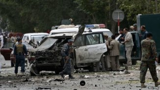 Afghan Presidential Candidate Abdullah Abdullah Survives Suicide Attack b