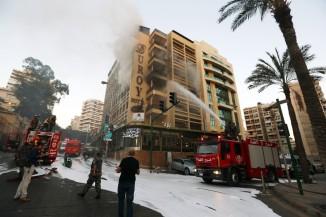 Duroy Hotel Bomb Blast , Beirut , Lebanon