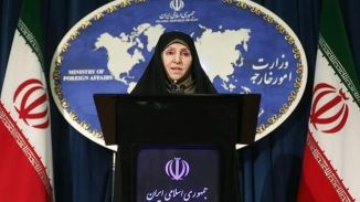 Foreign Ministry spokeswoman Marzieh Afkham