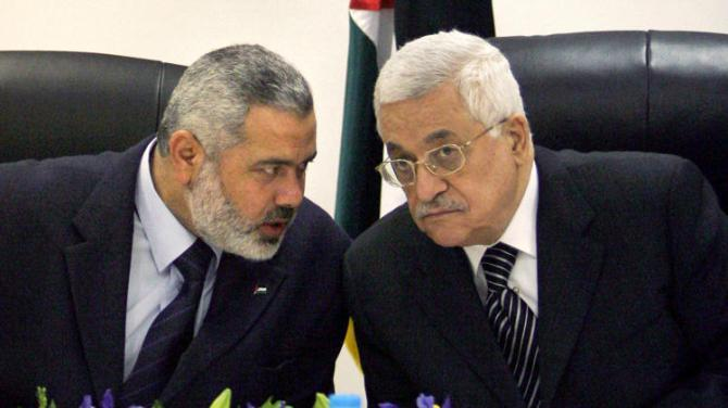 Mehmoud Abbas swears in a Unity Govt