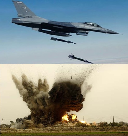 Pakistan Airforce Jets Bomb , North Waziristan , FATA