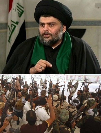 Muqtada Sadr opposes US military intervention in Iraq