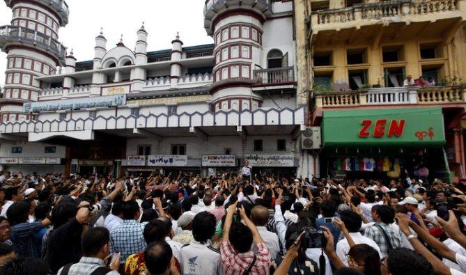 Protest against killings