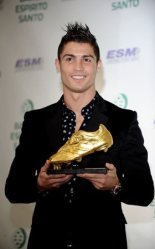 Cristiano Ronaldo Portugal Receives Golden Shoe