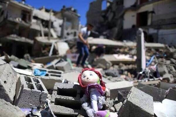 Gaza Destruction By Israeli Raids